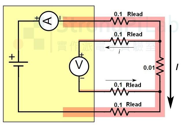 低電阻測量-使用四線式Four Wire