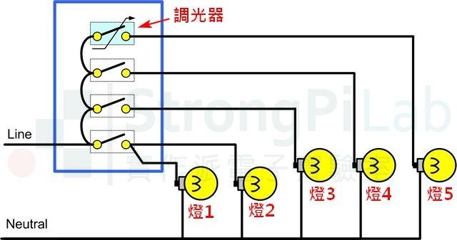 調光器-線路圖
