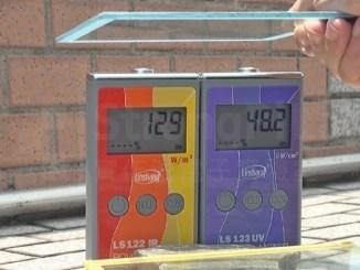 使用後 隔熱漆 紅外線紫外線 隔離測試