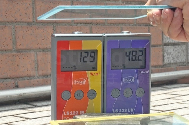 隔熱漆 紅外線紫外線 隔離測試
