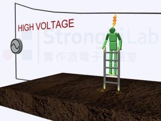 太靠近高壓電會觸發電弧產生,因而 觸電 造成嚴重灼傷