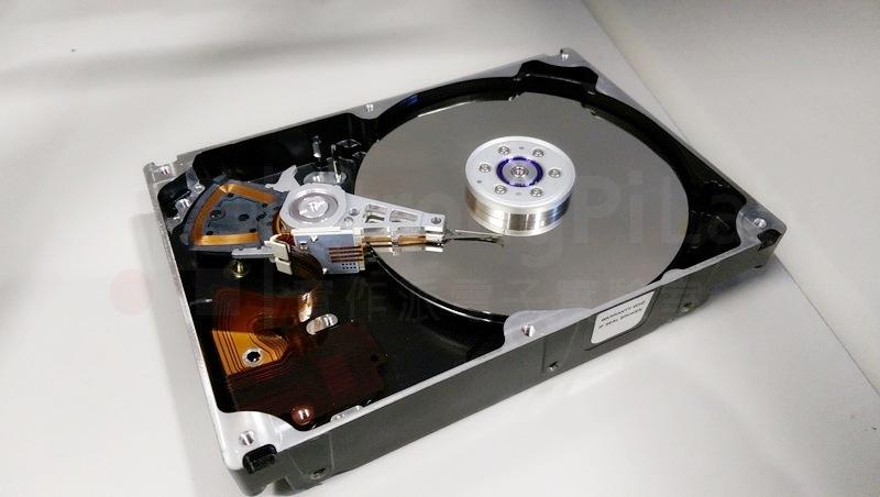 硬碟內部構造