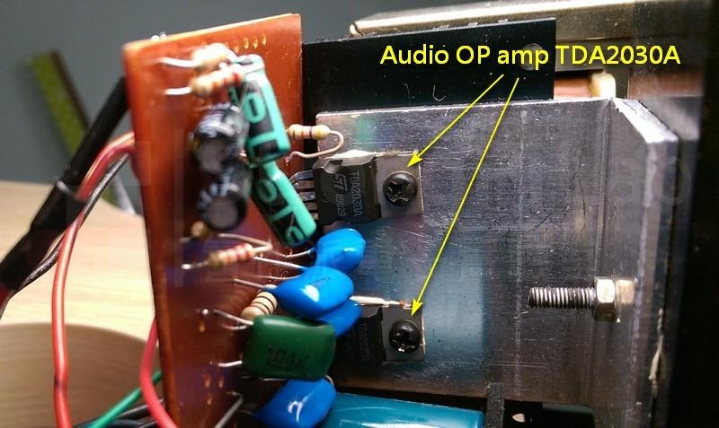 更換OP amp的周邊零件
