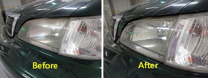 車燈霧化處理後果然比較亮麗