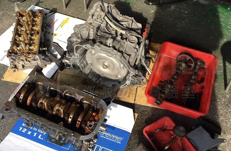 引擎要全部拆解才能做整理
