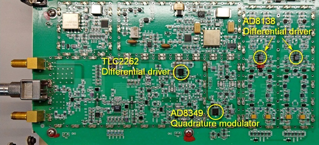 有4個RF元件的5V電源來自特定的整流器78M05