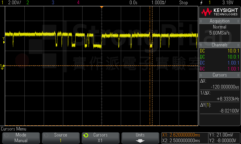 PLL chip的CP輸出