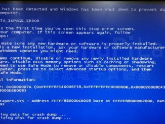 Windows電腦當機出現 藍畫面