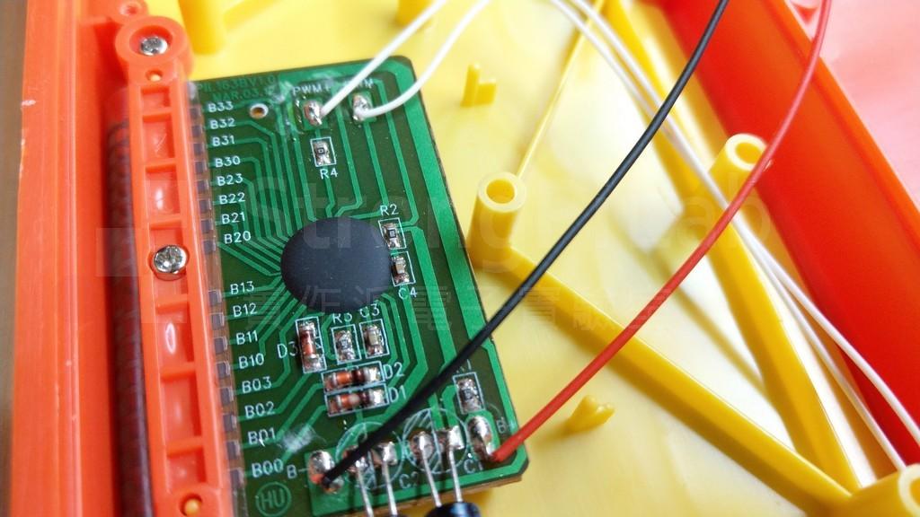 模組的主電路板