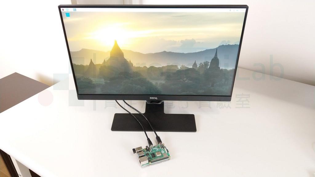 用樹梅派測試 HDMI螢幕 卻是有畫面