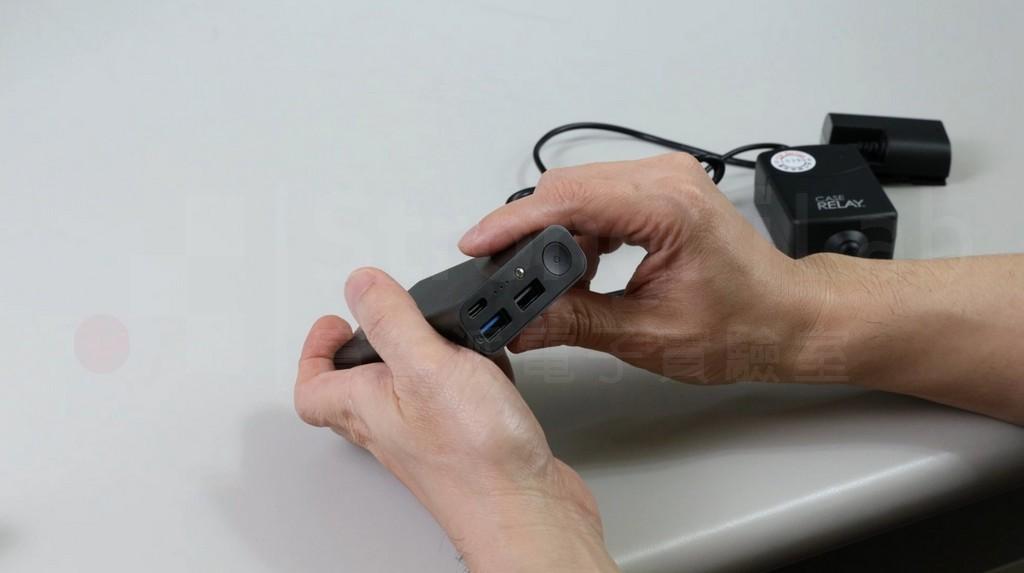 行動電源需要按鈕才能供電