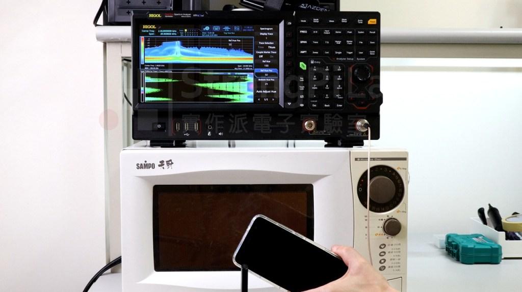 微波爐電磁波 正在干擾Wifi的訊號