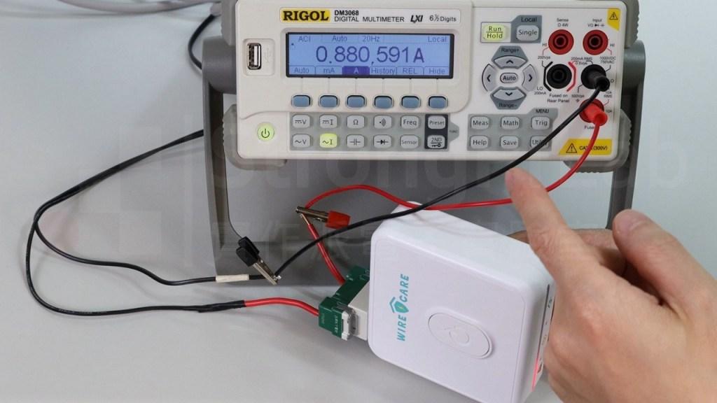 插座老化 偵測器使用不同電流來工作