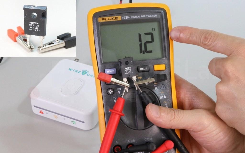三用電錶測低電阻容易有誤差