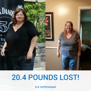 20.4 Pounds Total Lost July 14 - July 16, 2017
