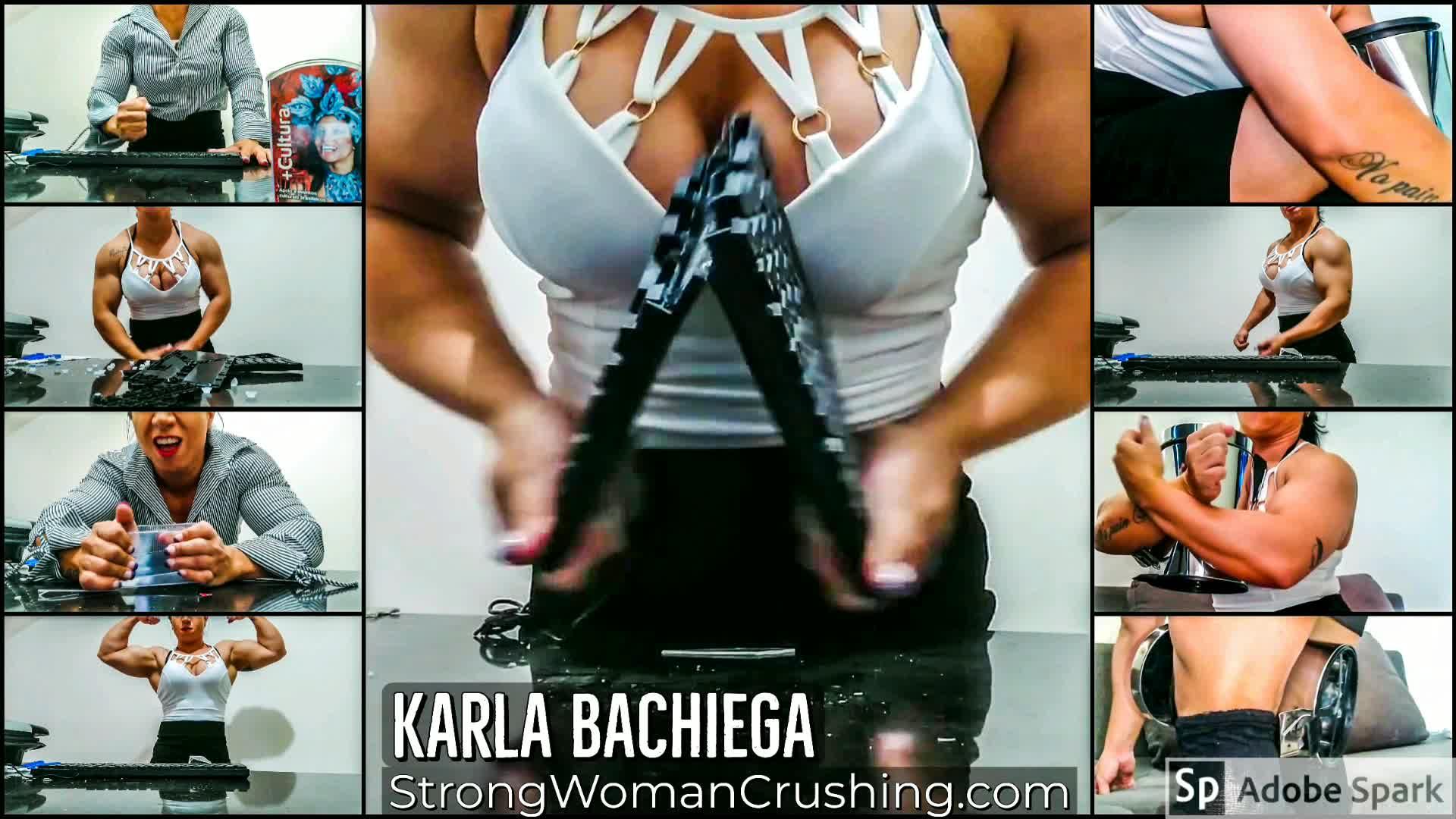 Karla muscular secretary rage