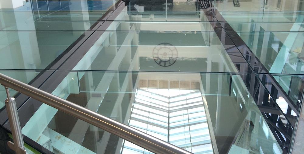 walk on glass floor multi-panels
