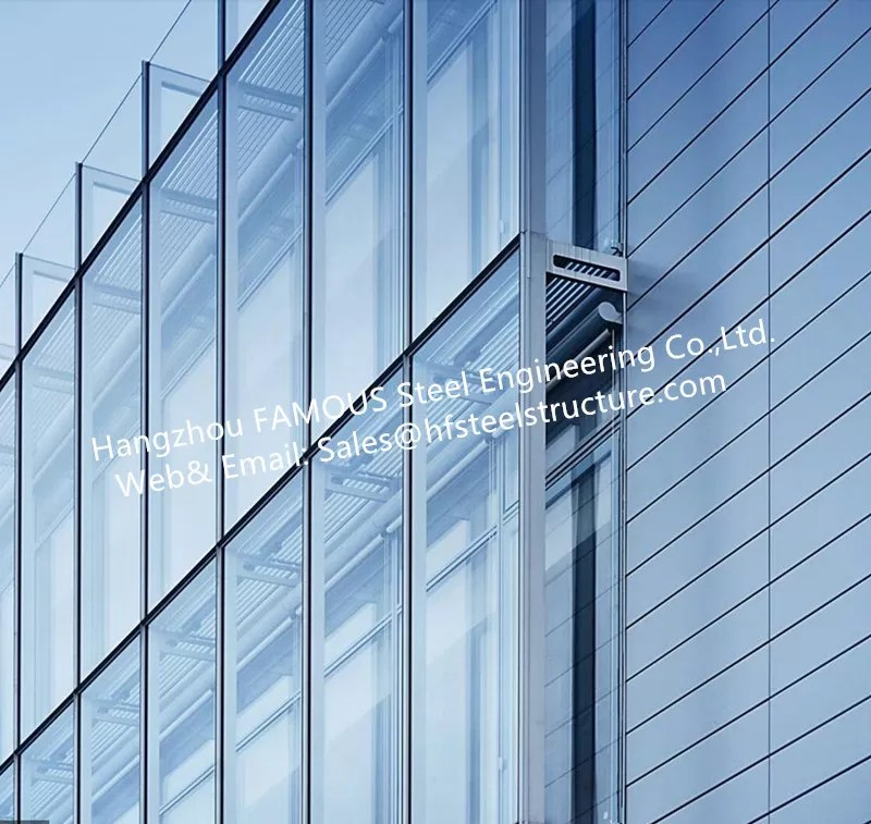 double layer insulation glass curtain
