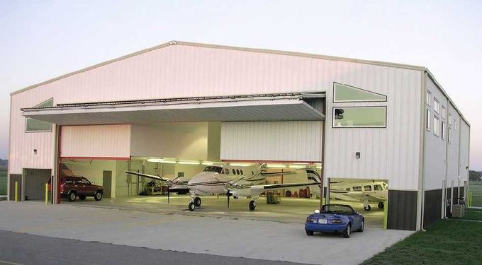 Customized Prefabricated Steel Aircraft Hangars With