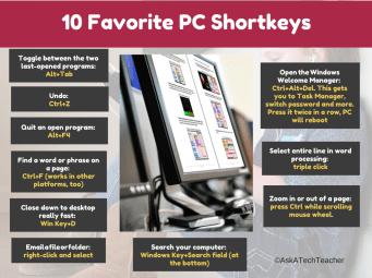 PC shortkeys - Copy