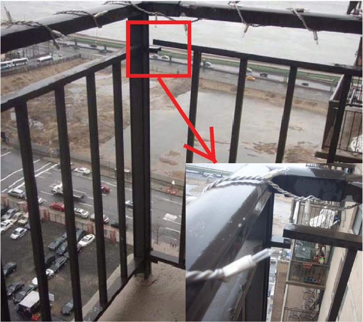 Structure Magazine Balcony Issues In High Rise Buildings | Loose Railing In Concrete | Stairs | Concrete Steps | Cement | Aluminum | Stair Stringers