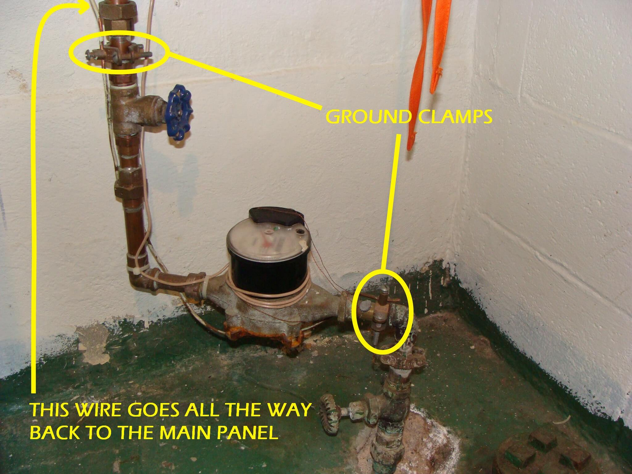 Jumper Wire Water Heater Trusted Wiring Diagram Interior Bonding Pipes At Full Hd Maps Disconnect