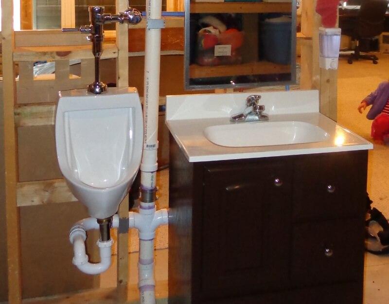 Diy Urinal Installation My Tale Of Woe