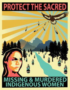 Missing and murdered Indigenous women, girls & two-spirit people