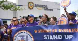 Workers announce union drive at Amazon