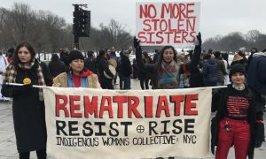 Historic Indigenous Peoples March defends sovereignty