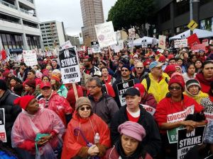 Press Conf: Parents & students in support of the UTLA Strike!
