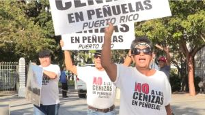 Puerto Ricans fight coal ash poison