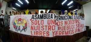Asamblea Internacional de los Pueblos. Manifiesto de Solidaridad con Venezuela