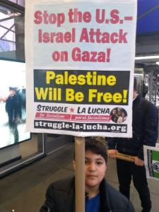 New York protest says: Long live Gaza!