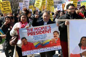 U.S. hands off Venezuela!