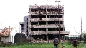 Never forget the U.S. bombing of China's embassy!