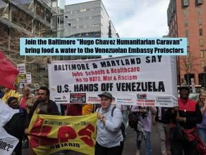 May 11: Emergency Hugo Chavez Humanitarian Caravan to Venezuelan Embassy