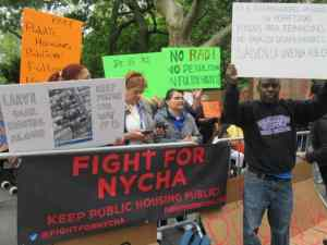 Fulton Houses tenants say: 'Keep public housing public'