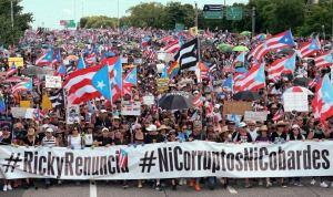 Declaración de solidaridad con el pueblo de Puerto Rico