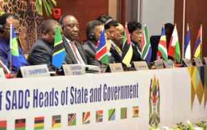 Southern African Development Community calls for solidarity on ending illegal sanctions on Zimbabwe