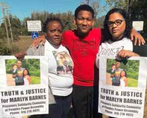 Protest demands justice for Marlyn Barnes