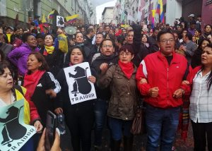Ecuadorians mobilize against the 'big package' of Moreno and the IMF