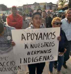 Solidarity with Ecuador