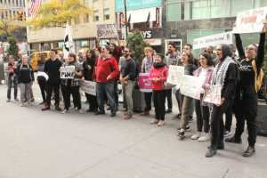 New York Nov. 9: Protest to free Palestinian prisoners and #BoycottPuma
