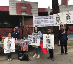 MLK Day in Los Angeles: 'Money for food stamps, not war on Iran'
