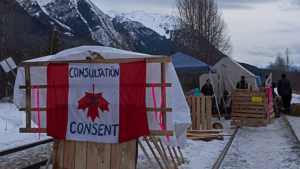 Three hereditary chiefs arrested as Wet'suwet'en solidarity actions flare across Canada
