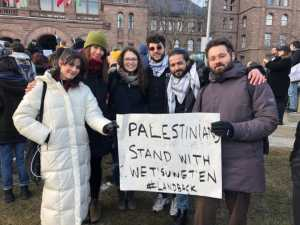 Palestinian Youth Movement stands with Wet'suwet'en