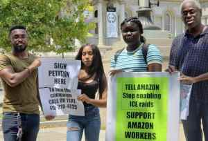 Baltimore Amazon workers organize in defense of workers' lives