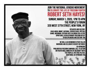 Robert Seth Hayes, ¡Presente!