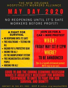 New Orleans: May Day Car + Bike Rally